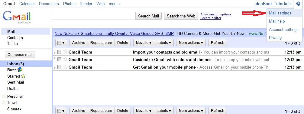 Publish My Web Support Gmail Tutorial